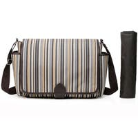 Colorland Taylor Multicolored/Brown Polyester Messenger/Diaper Changing Bag