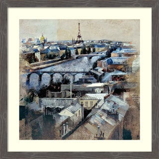 Framed Art Print 'Paris' by Marti Bofarull 36 x 36-inch