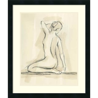 Link to Framed Art Print 'Neutral Figure Study IV: Nude' by Ethan Harper 22 x 26-inch Similar Items in Art Prints
