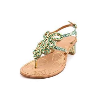 Yellow Box Women's 'Dacey' Synthetic Sandals