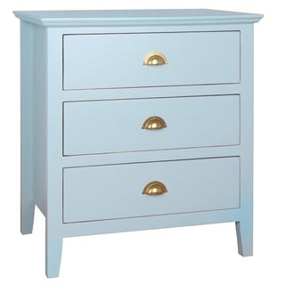 Porthos Home Brianna 3-Drawer Side Table