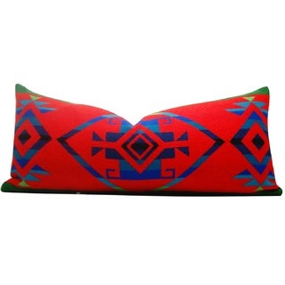 Hudson Lodge Falcon Red 14-inch x 30-inch Lumbar Throw Pillow