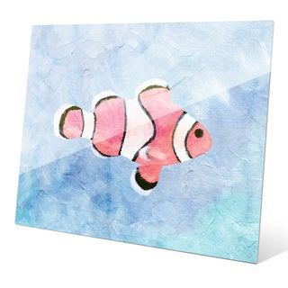 'Clownfish Painted' Wall Graphic on Glass