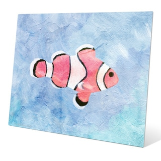 'Clownfish Painted' Wall Graphic on Metal