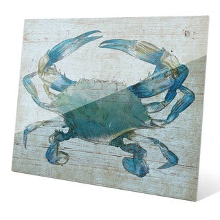 'Blue Crab' Wall Graphic on Acrylic