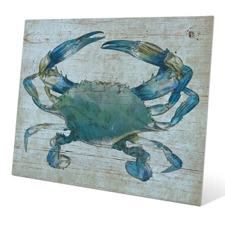 'Blue Crab' Wall Graphic on Metal
