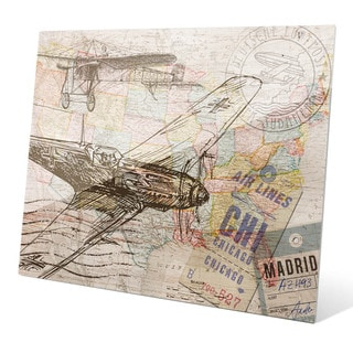 'Map of the Sky' Glass Wall Graphic