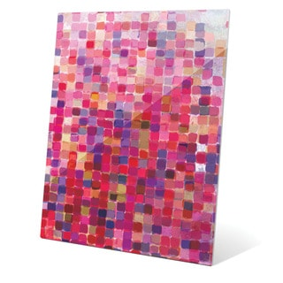 'Rose Mosaic' Wall Graphic on Glass
