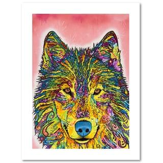 Dean Russo 'Wolf' Paper Art