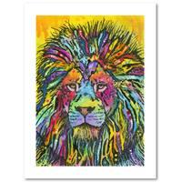 Dean Russo 'Lion Good' Paper Art