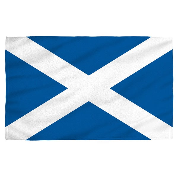 Scotland Flag Polyester Beach Towel