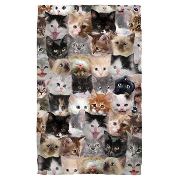 Kittens Polyester Beach Towel