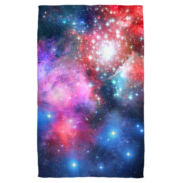 Galactic 3 Polyester Beach Towel
