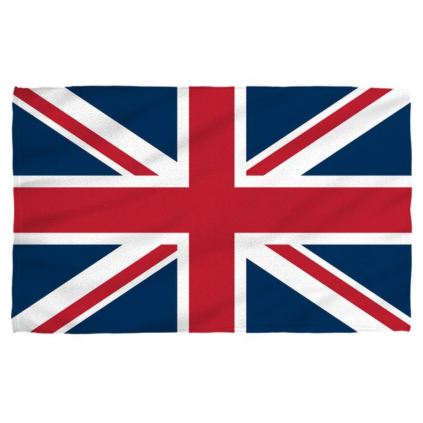 Union Jack Polyester Beach Towel