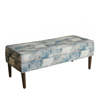 HomePop Large Decorative Storage Bench