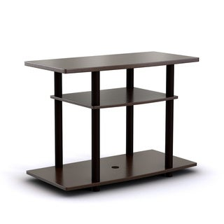 Furinno 13192 Turn-N-Tube No Tools 3-Tier TV Stands