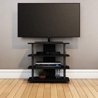 Furinno Turn-N-Tube 4-tier Corner TV Stand