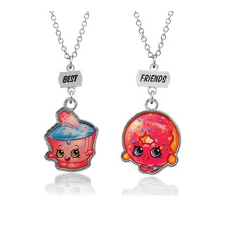 Shopkins Chidren's 'Best Friends' Multicolored Cupcake and Donut Necklace Set