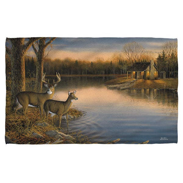 Wild Wings/Tranquil Evening 2 Beach Towel