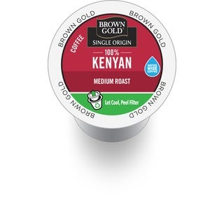 Brown Gold 100-percent Kenyan Coffee RealCup Portion Pack for Keurig Brewers