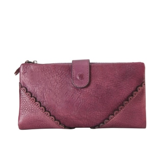 3be58659abff1 ... Bag-Coach Canada Online Discount Diophy 8150 Genuine Leather Luxury  Vintage Snap-closure Wallet (Option Purple) ...