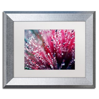 Beata Czyzowska Young 'Symphony in Pink' Matted Framed Art