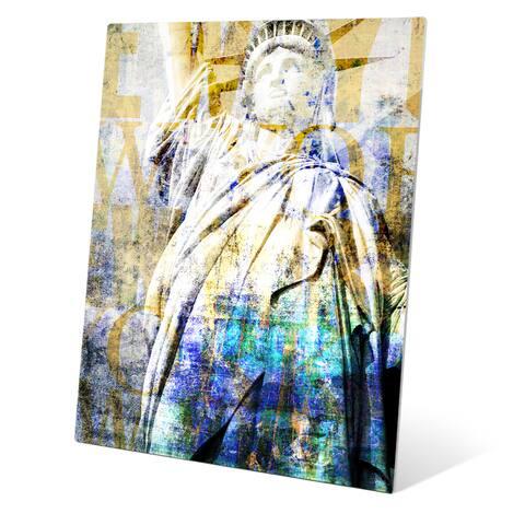 'Goddess Libertas' Wall Graphic on Glass