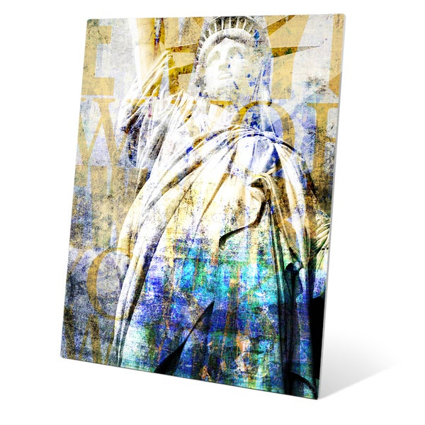 'Goddess Libertas' Wall Graphic on Glass. Opens flyout.
