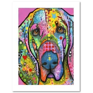 Dean Russo 'Bloodhound' Paper Art