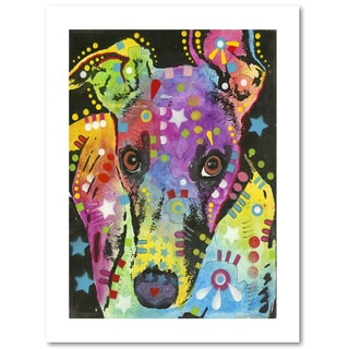 Dean Russo 'Curious Greyhound' Paper Art