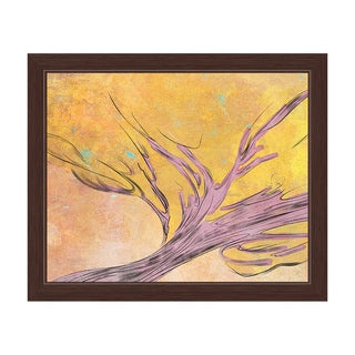 'Glowing Tree' Framed Graphic Wall Art
