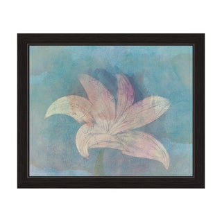 'Lilly on Sky' Framed Graphic Wall Art