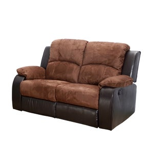 Tuscany 2 piece Reclining Sectional Set Free Shipping Today Overstock