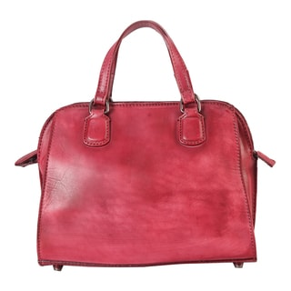 Diophy Leather Structured Mini Tote Handbag