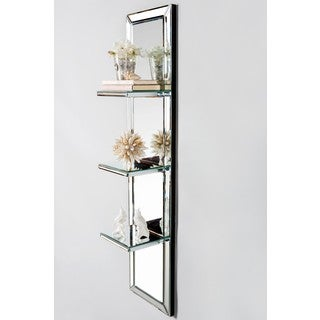 Mirrored Surface Decorative Wall Shelf Free Shipping