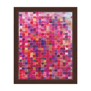 'Rose Mosaic' Framed Graphic Wall Art