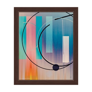 'Inter Dimensional' Framed Graphic Wall Art