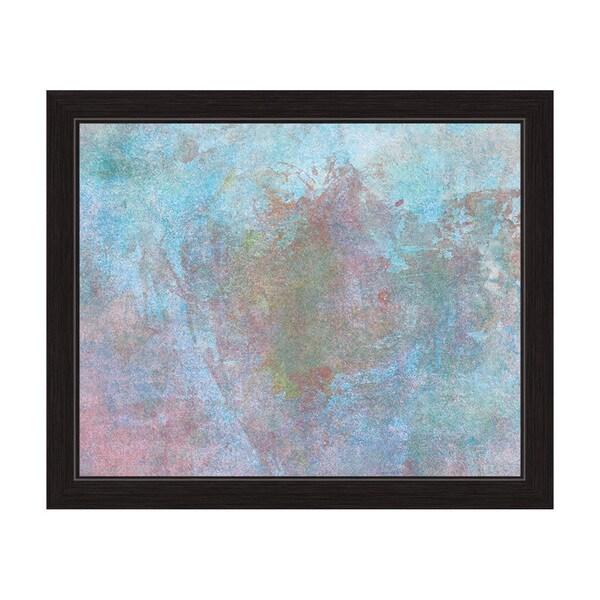 'Sky Floret' Canvas Framed Graphic Wall Art