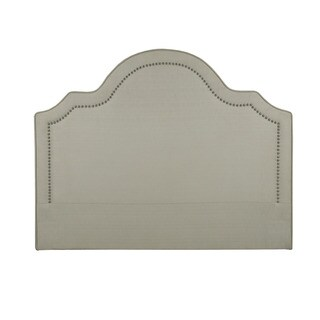Victoria Beige Upholstered Fabric Headboard