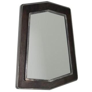 Varaluz Casa Lofty Faux Zebrawood Mirror