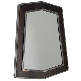 Varaluz Casa Lofty Faux Zebrawood Mirror - Brown