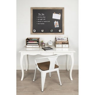Beatrice Brown Framed Magnetic Chalkboard