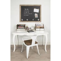 Designovation Beatrice Framed Magnetic Chalkboard