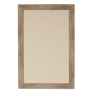 DesignOvation Beatrice Framed Linen Fabric Pinboard (More options available)