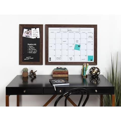dd4ad7da3053 DesignOvation Beatrice Framed Magnetic Dry Erase Monthly Calendar