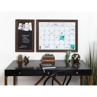 DesignOvation Beatrice Framed Magnetic Dry Erase Monthly Calendar