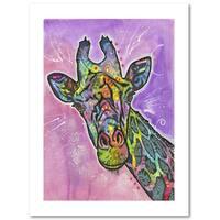 Dean Russo 'Giraffe' Paper Art