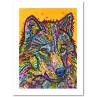 Dean Russo 'Wolf 2' Paper Art