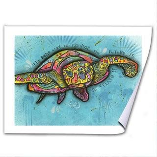 Dean Russo 'Turtle' Paper Art