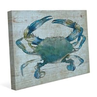 'Blue Crab' Canvas Wall Graphic